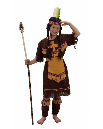 Magicoo Indianer Kostüm Mädchen - Indianerin