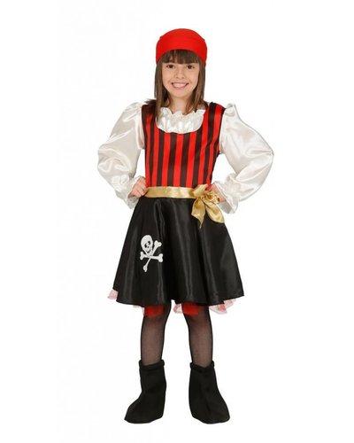 Magicoo Kostüm Piratin für Kinder