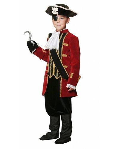 Magicoo Piratenkapitän Kostüm für Kinder Deluxe