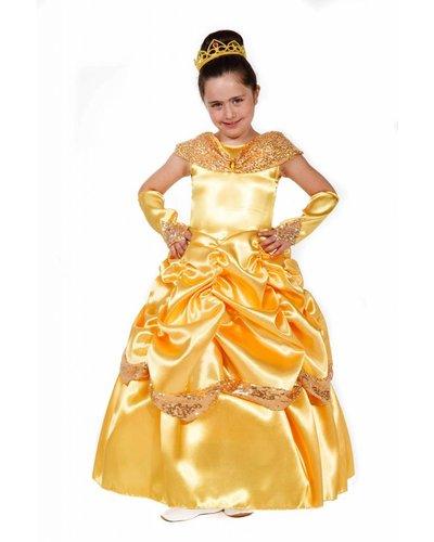 Magicoo Prinzessin Kostüm für Kinder gelb Bella