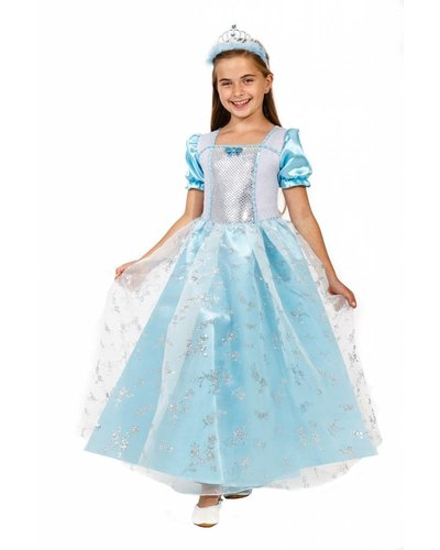 Magicoo Eisprinzessin Kostüm blau für Kinder