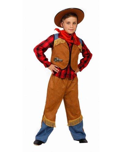 Magicoo Deluxe Cowboy Kostüm für Jungen mit Hut