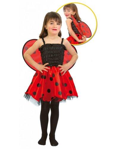 Magicoo Marienkäfer Kostüm für Mädchen (bis 2 Jahre)