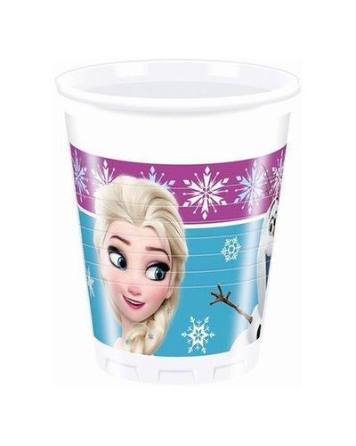 Magicoo 8 Plastikbecher mit Frozen-Motiv