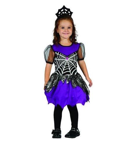 Magicoo Halloween Vampir Kostüm Spinderella für Kleinkinder Größe 92-104