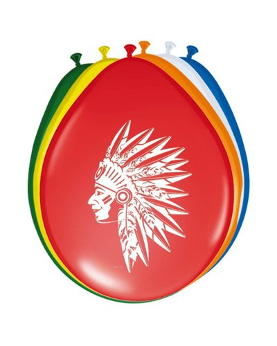 Magicoo 8 Luftballons für Indianerparty