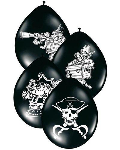 Magicoo 8 Luftballons für Piratenparty