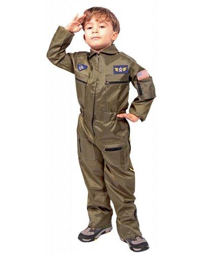 magicoo Pilotenkostüm - Ganzkörperanzug Kinder