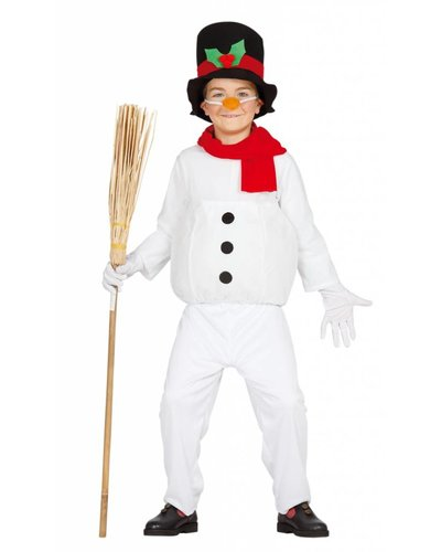 Magicoo Schneemann Kostüm Kinder