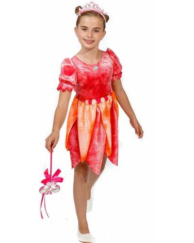 Magicoo Feen Kostüm für Kinder rosa-orange