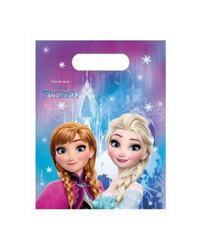 Disney 6 Partytüten mit Frozen-Motiv
