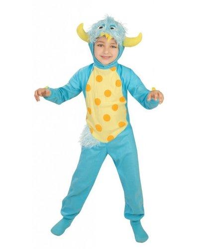 Magicoo Monster Kostüm für Kinder blau
