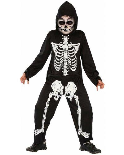 Magicoo Skelett Kostüm für Kinder