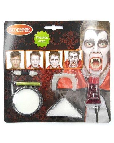 Magicoo Deluxe Halloween Schminkset für Vampire