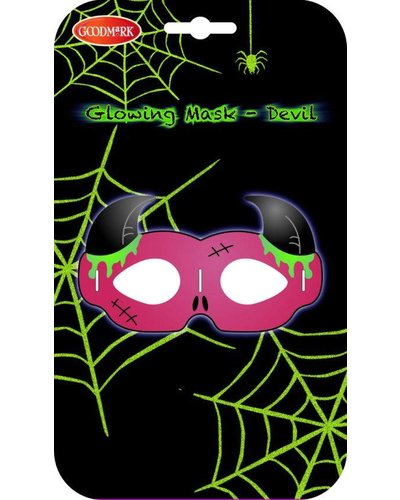 Magicoo Halloween leuchtende Teufelsmaske