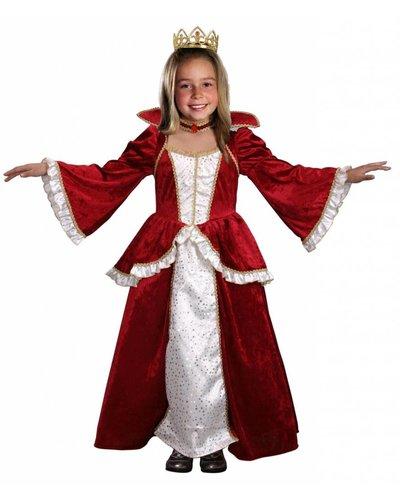 Magicoo Königin Kostüm für Kinder Elisabeth