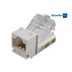RJ45 zelfsnijdende connector CAT6