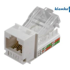 Klemko RJ45 zelfsnijdende connector CAT6