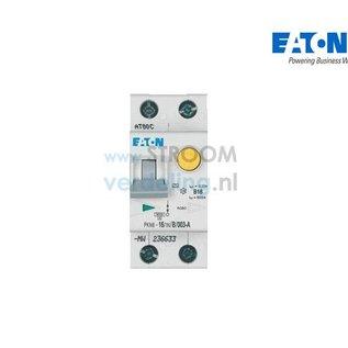 Eaton Aardlekautomaat B16 1P+N 30mA