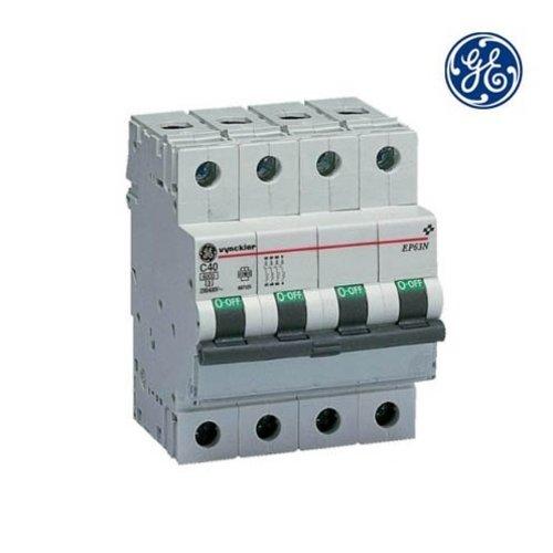 General Electric Installatieautomaat 3P+N 63A  C-kar
