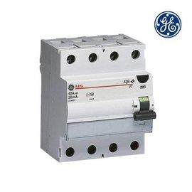 General Electric Aardlekschakelaar 4P 40A 0,3A