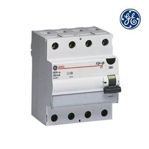 General Electric Aardlekschakelaar 4P 63A 0,3A