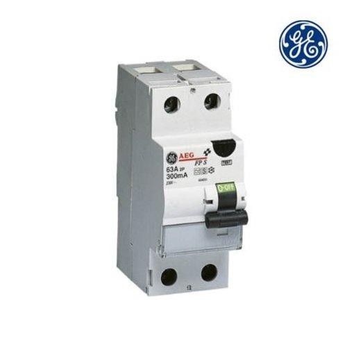 General Electric Aardlekschakelaar 2P 63A 0,03A