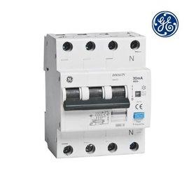 General Electric Aardlekautomaat 3P+N 10A 0,03A C-kar Type A