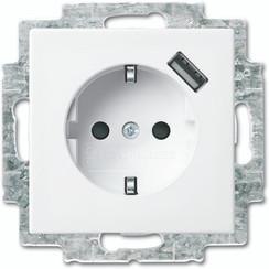 Wandcontactdoos USB balance