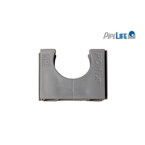 Pipelife Klemblok polfix 19mm grijs