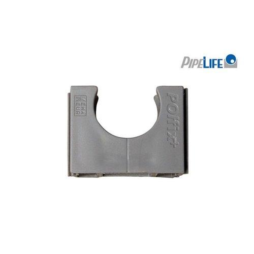 Pipelife Klemblok polfix 16mm grijs