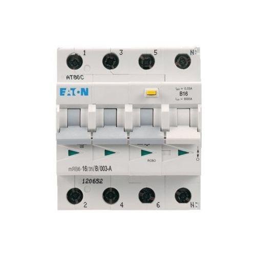 Eaton Aardlekautomaat B16 3P+N 30mA