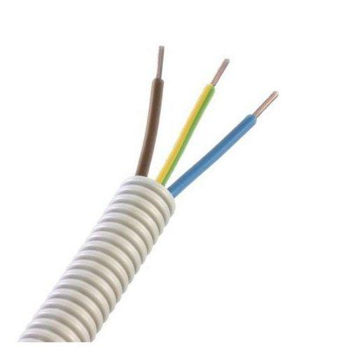 Flexibele buis met draad - 16mm - 3x2,5mm +1x1,5mm - 100M