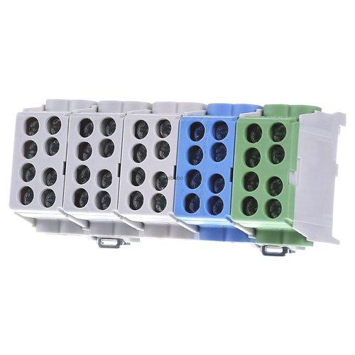 Stroomverdeelblok 5P - 100A - 2x25mm2 - 2x16mm2