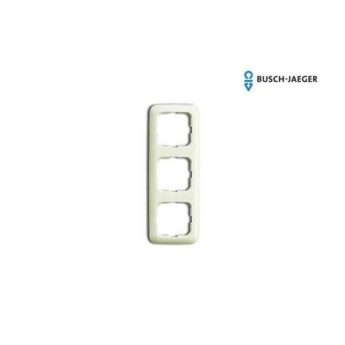Busch-Jaeger Afdekraam 3-voudig SI creme
