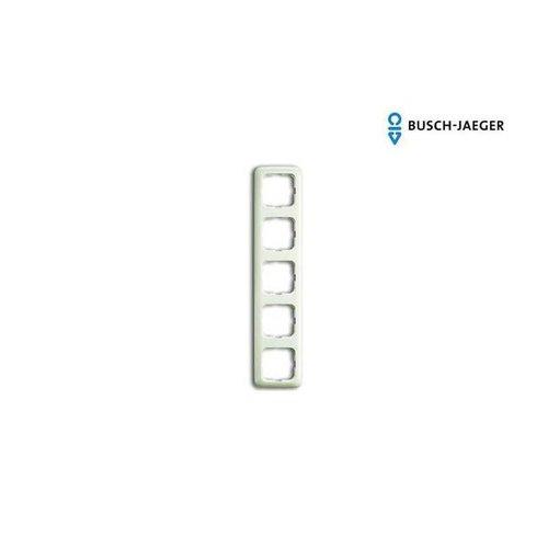 Busch-Jaeger Afdekraam 5-voudig SI creme