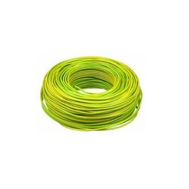 VD Draad 2,5mm² 100M geel/groen