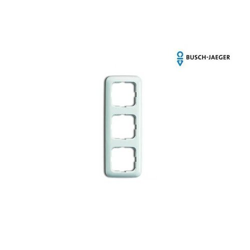 Busch-Jaeger Afdekraam 3-voudig SI alpin wit