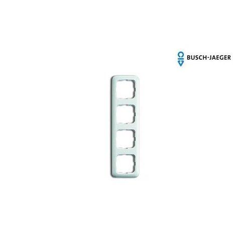 Busch-Jaeger Afdekraam 4-voudig SI alpin wit