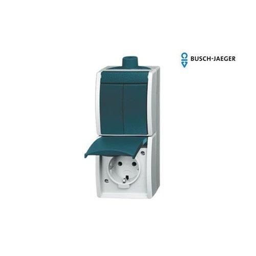 Busch-Jaeger Serie combinatie 2601/5/20 Ocean waterdicht