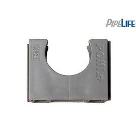 Pipelife Klemblok polfix 19mm grijs 100 stuks