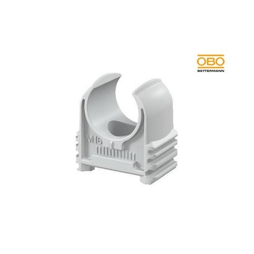 OBO Klemzadel 19mm grijs 100 stuks