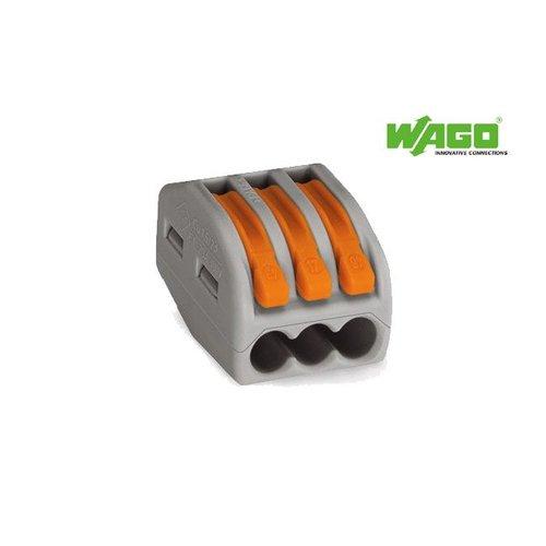 Wago Wago verbindingsklem 222-413 - 3 voudig