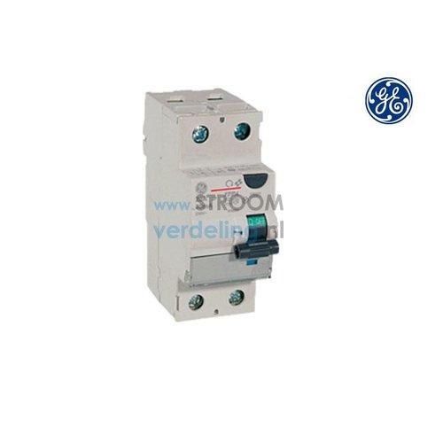 General Electric Aardlekschakelaar 2P 30mA