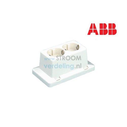 ABB Dubbele WCD lasdoos 3611 W2