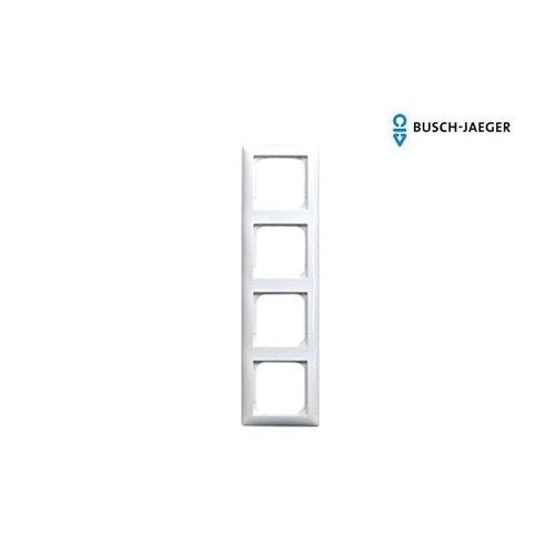 Busch-Jaeger Afdekraam 4-voudig balance