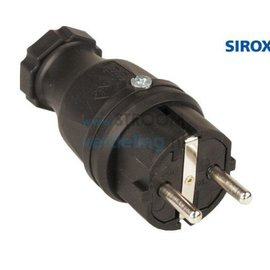 Sirox Rubber stekker