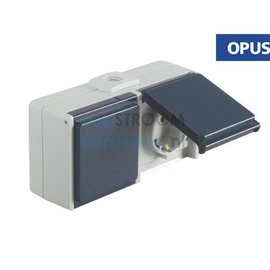 Opus WCD 2-voudig Horizontaal staalblauw