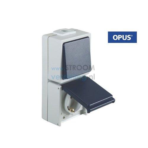 Opus Wissel combinatie staalblauw