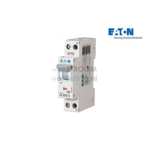 Eaton Installatieautomaat 16A B 1P+N